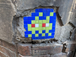 Invader artwork